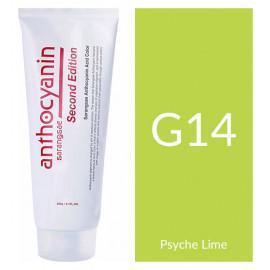 "Краска для волос ""Anthocyanin Second Edition G14 Psyche Lime, 230 мл"""