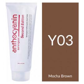 """Краска для волос """"Anthocyanin Second Edition Y03 Mocha Brown, 230 мл"""""""