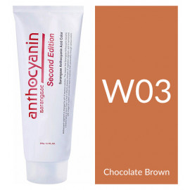 "Краска для волос ""Anthocyanin Second Edition W03 Chocolate Brown, 230 мл"""