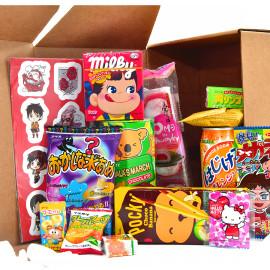 CandyBox - 20 японских сладостей + подарок